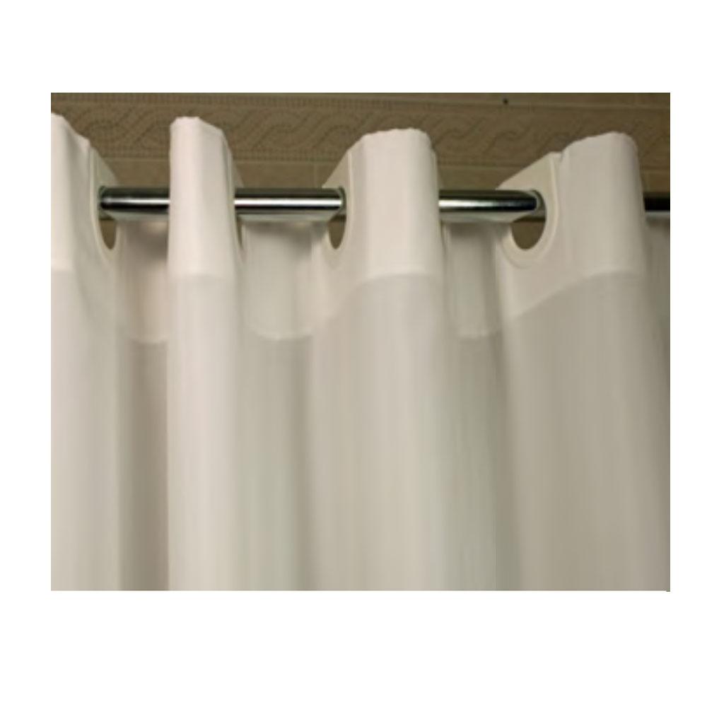 72u0026quot; x 74u0026quot; EzyHang Poly 300 Shower Curtain, Beige