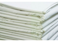 "42"" x 34"" T-180 White Percale Standard Pillow Cases"