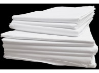 "42"" x 40"" T-200 White Simply Better Queen Pillow Cases"