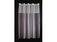 71x72, PreHooked LaQuinta Verde Shower Curtains