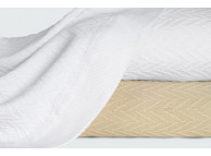 "114"" x 93"" Magnificence White King XL Blanket"