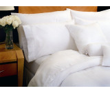 "94x94"" Queen T-310 1888 Mills Magnificence™  White Duvet Cover"