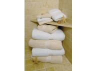 "35"" x 70"" Oasis® White 22.5 lb. Hotel Bath Sheet"