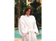 "48"" x 65"" Zero Twist Combed Cotton Luxury Bathrobes"