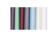 3' x 6' Dobbie Polyester Shower Curtain, Plum