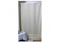 3' x 6' Super Stripe Shower Curtain, Beige