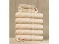 "16"" x 30"" 4.5 lb. Champagne Suite Touch® Hotel Towel"