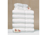 "16"" x 30"" 4.5 lb. White Suite Touch® Hotel Towel"