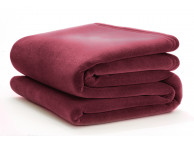"108"" x 90"" King Size Vellux Blanket Cranberry"