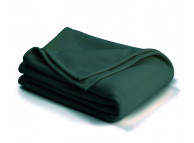 "66"" x 90"" Twin Size Vellux Blanket Hunter"