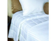 "Berkshire LiteLuxe™ Comforter, White T-200 Cover, 20 oz Fill, 60"" x 84"" Twin Size"