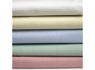 "81"" x 108"" T-180 Color Full XL Percale Sheets"