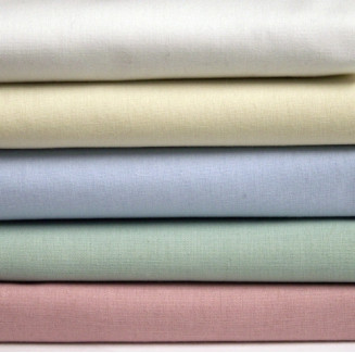 "66"" x 115"" T-180 Color Twin XXL Percale Sheets"