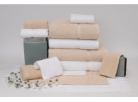 "27"" x 50"" 14 lb. Crown Touch™ White Hotel Bath Towel"