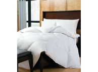"90"" x 90"" Downlite White Down Duvet Insert, 31 oz, Queen Size"
