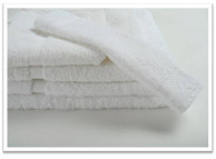 "27"" x 50"" 14 lb. Oxford Imperiale White Hotel Bath Towel"