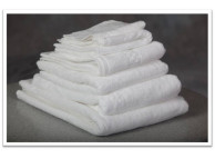 "27"" x 54"" 17 lb. Oxford Viceroy White XL Hotel Bath Towel"
