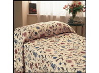 "120"" x 118"" Martex Home Terrace Bedspread, Multicolor, King Size"