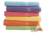 "30"" x 54"" Martex Pool Towels, 100% Cotton, Staybright Solid Color"
