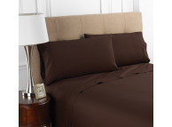 "20"" x 34"" T-200 Martex Colors, Queen Pillow Cases, Chocolate"