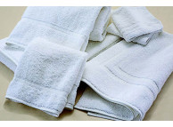 "16"" x 27"" 3 lb. White Martex Sovereign Hand Towels"