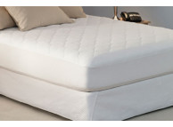 "60"" x 80"" Restful Nights Platinum Mattress Pads with Fitted Skirt, 13.8 Oz., Queen Size"
