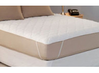 "60"" x 80"" Restful Nights Platinum Mattress Pads with Anchor Bands, 13.8 Oz., Queen Size"