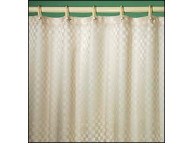 3'x6' Satin Box 100% Polyester Curtain