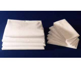"78"" x 80"" x 15"" T-180 Bone Percale King XXD Fitted Sheets"
