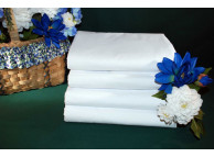 "42"" x 36"" Thomaston T-300 White Standard Size Pillow Cases"